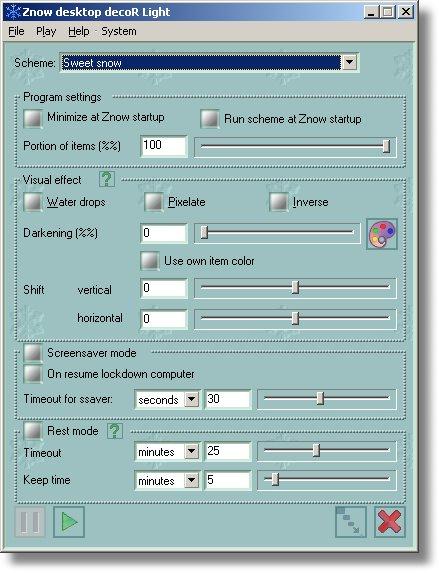 Windows 7 Znow desktop decoration 1.1.1.1 full